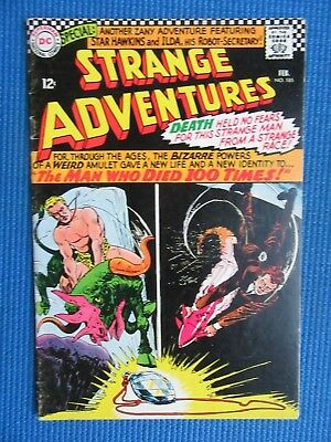 Strange Adventures # 185 - (Fine) - The Man Who Died Too Many Times