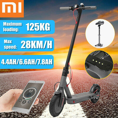 FOR XIAOMI MIJIA M365 Electric Scooter Ultralight Light Foldable w/APP 7 8Ah