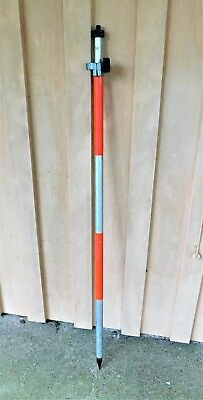 Maxi-Lite by CST/berger Surveying Pole Functional Man Cave Decor Red Silver