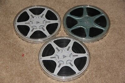 3 - 8mm Home Movies (400' Reels) West Point/Western USA - 1950's