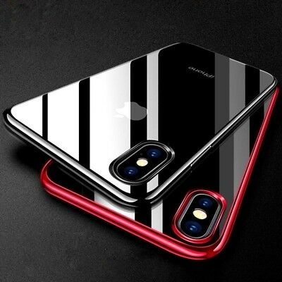 iPhone X XR XS MAX Luxury Ultra Slim Shockproof Bumper Case Cover for Apple DE