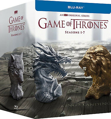 Game of Thrones: Seasons 1-7 1 2 3 4 5 6 7 (BLU-RAY Disc, 2017) FREE SHIPPING