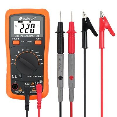 neoteck Auto Digital Multimeter AC/DC Spannung Strom Widerstand Multi Tester Vol