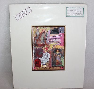 Claire Gerrard Original Mixed Media Art Mounted On Thick Card Sealed