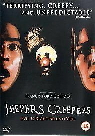 Jeepers Creepers [DVD] [2001], Very Good DVD, Peggy Sheffield, Justin Long, Jona