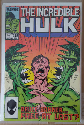 Incredible Hulk # 315, & # 316, (1986 / Vfn- / John Byrne Art.)