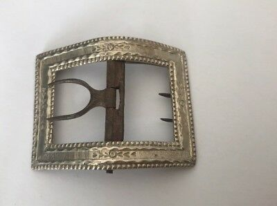 ANTIQUE GEORGIAN STERLING SILVER BUCKLE jason holt plymouth @ 1780