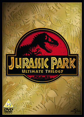 Jurassic Park: Trilogy Collection DVD (2015) Richard Attenborough ***NEW***