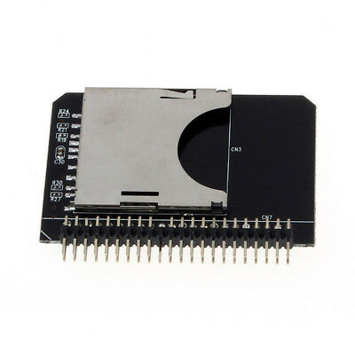 SD SDHC SDXC MMC Memory Card to IDE 2.5 Inch 44Pin Male Adapter Converter AU