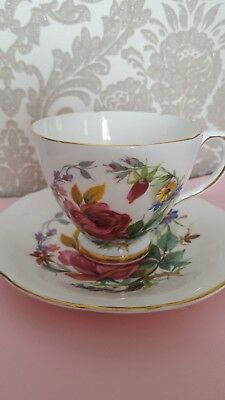 Sutherland Bone China Cup And Saucer staffordshire