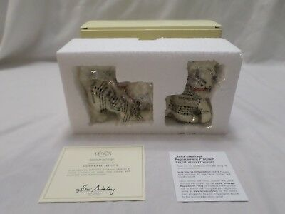 Lenox Playful IVORY CATS Kittens Set of 2 Figurine Sculpture New In Box w/COA