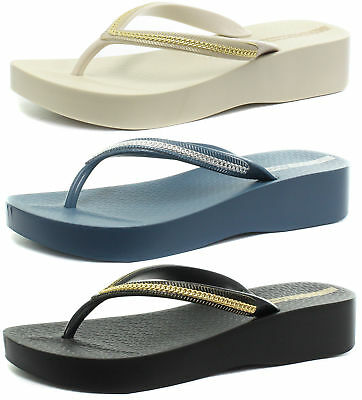4f40009d82b New Ipanema Brasil Mesh Wedge Womens Flip Flops ALL SIZES AND COLOURS