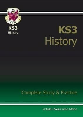 KS3 History Complete Study and Practice by CGP Books 9781841463919
