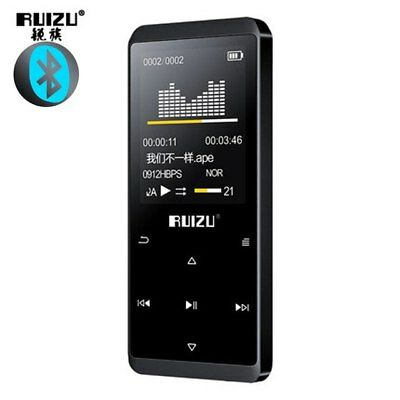 Lettore Mp3 Bluetooth 4.0 da 8GB, D02, Radio, Tasti Retroilluminati + Auricolari