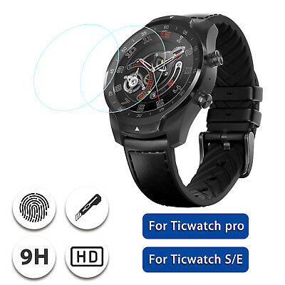 2Pcs Tempered Glass Screen Protector for Ticwatch Pro / Ticwatch S/E Smart Watch