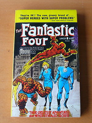 Fantastic Four -  Mighty Marvel Collector's Album! (1966, Lancer)  NM