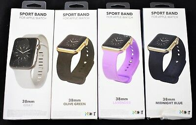 BUNDLE OF 4 NEXT - Sport Band Watch Strap for Apple Watch 38mm - 1474ss