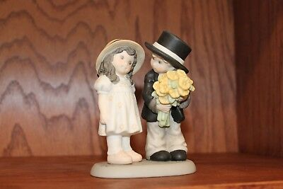 Kim Anderson Bahner Figurine 786055 ~ Will You Marry Me? 2000 ~ VERY GOOD!