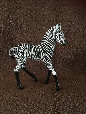 Custom Breyer Zebra Foal