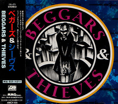 BEGGARS & THIEVES s/t (1990) RARE FIRST JAPAN CD OBI AMCY-155