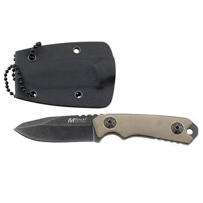 MTech MT-20-30 USA Neck Knife 4.75in Overall