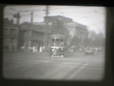 16Mm B/w Silent 1950's Army Soldier On Leave In Korea Personal Travel Film