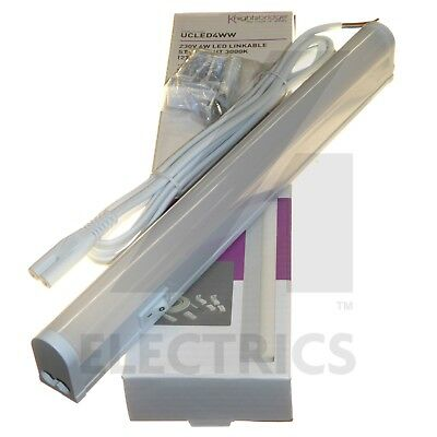 LED Under Cupboard Strip Lights Linkable 4W - 22W Kitchen Cabinet Cove Display