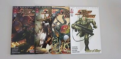 Starship Troopers Blaze of Glory Issue 1 Markosia Comics Mar 2006 cover variants