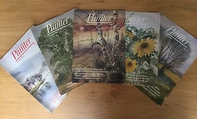 Leisure Painter Magazines. 5 Issues from October 1982 to February 1983
