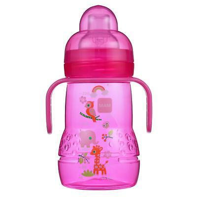 MAM Trainer with Handles, Girl, 8 Ounces, 1-Count
