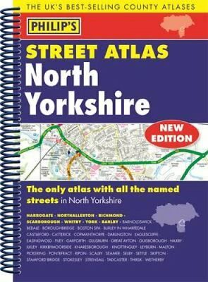 Philip's Street Atlas North Yorkshire 9781849073684 (Spiral bound, 2015)