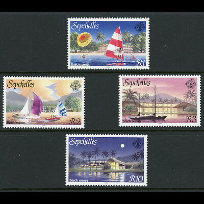 SEYCHELLES 1988 Tourism. SG 683-686. Mint Never Hinged. (AX145)