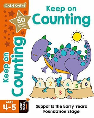 Gold Stars Keep on Counting Ages 4-5 Early Years: Supports th... by Nina Filipek
