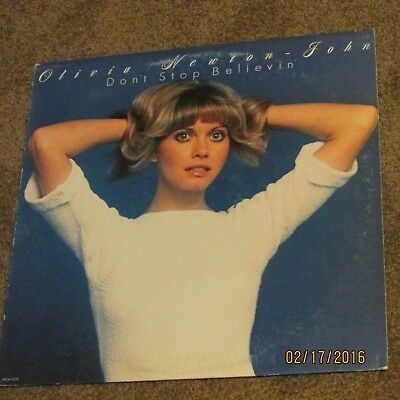 Olivia Newton John Don't Stop Believin' 1976 LP Record Album 33 RPM 12""