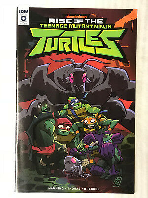 Rise of The TMNT #0 - 1:10 Variant! F/VF - Andy Suriano Cover!