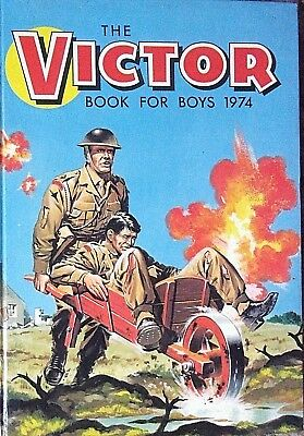 The Victor Book for Boys Annual 1974