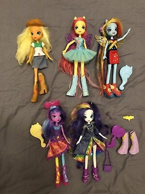 my little pony / Equestria Girls Lot de 5 Poupées