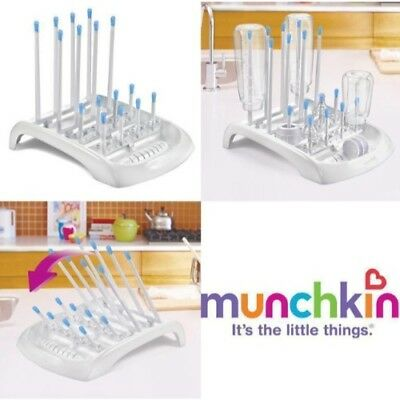 Baby Feeding Bottle Drying Rack Teats Cups Pump Parts Dry Toddler Worktop Holder