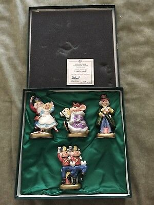 VINTAGE 1993 Fitz and Floyd Nutcracker sweets collection hand painted Mouse King