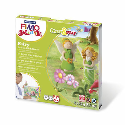 ( 10,65€ / 100 G) New Fimo Kids Form&play Fairy, 4 x 42 G, Box