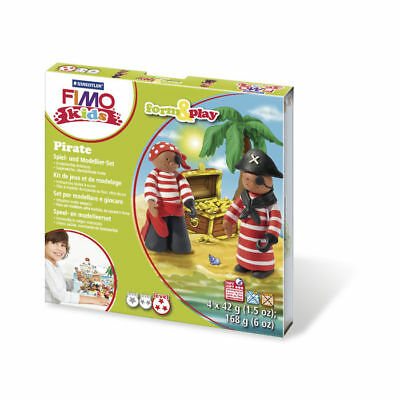 ( 10,65€ / 100 G) New Fimo Kids Form&play: Pirates, 4x42g, Box 1Set