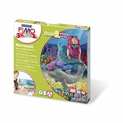 ( 10,65€ / 100 G) New Fimo Kids Form&play: Mermaid, 4 x 42 G