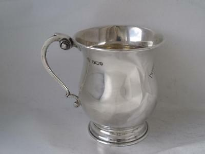 Solid Sterling Silver Cup/ Mug 1932/ H 7.1 cm/ 87 g