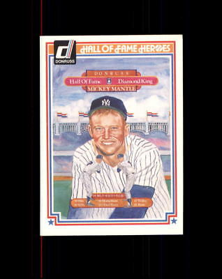 Mickey Mantle 1983 Donruss Hall Of Fame Heroes #43 (D)