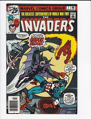 Invaders #7 (Marvel, 1976)