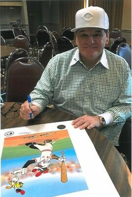 "Warner Brothers ""Keep Your Eye on Tweety-Rose"" Signed by Pete Rose"