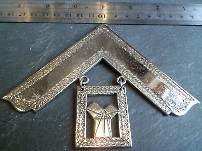 Silver Tone / White Metal HEAVY 79.9g 2.9oz Masonic Past Masters Jewel