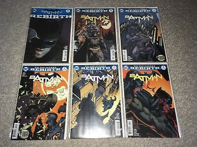 Batman #1-54 Complete Set + More 1st Prints NM DC REBIRTH Tom King 57 Lot Annual