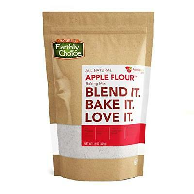 Natures Earthly Choice APPLE FLOUR Great for Baking (1-16 OZ) Bag