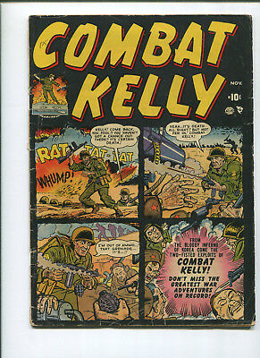 Combat Kelly #1 (5.0) first Appearance - 1951